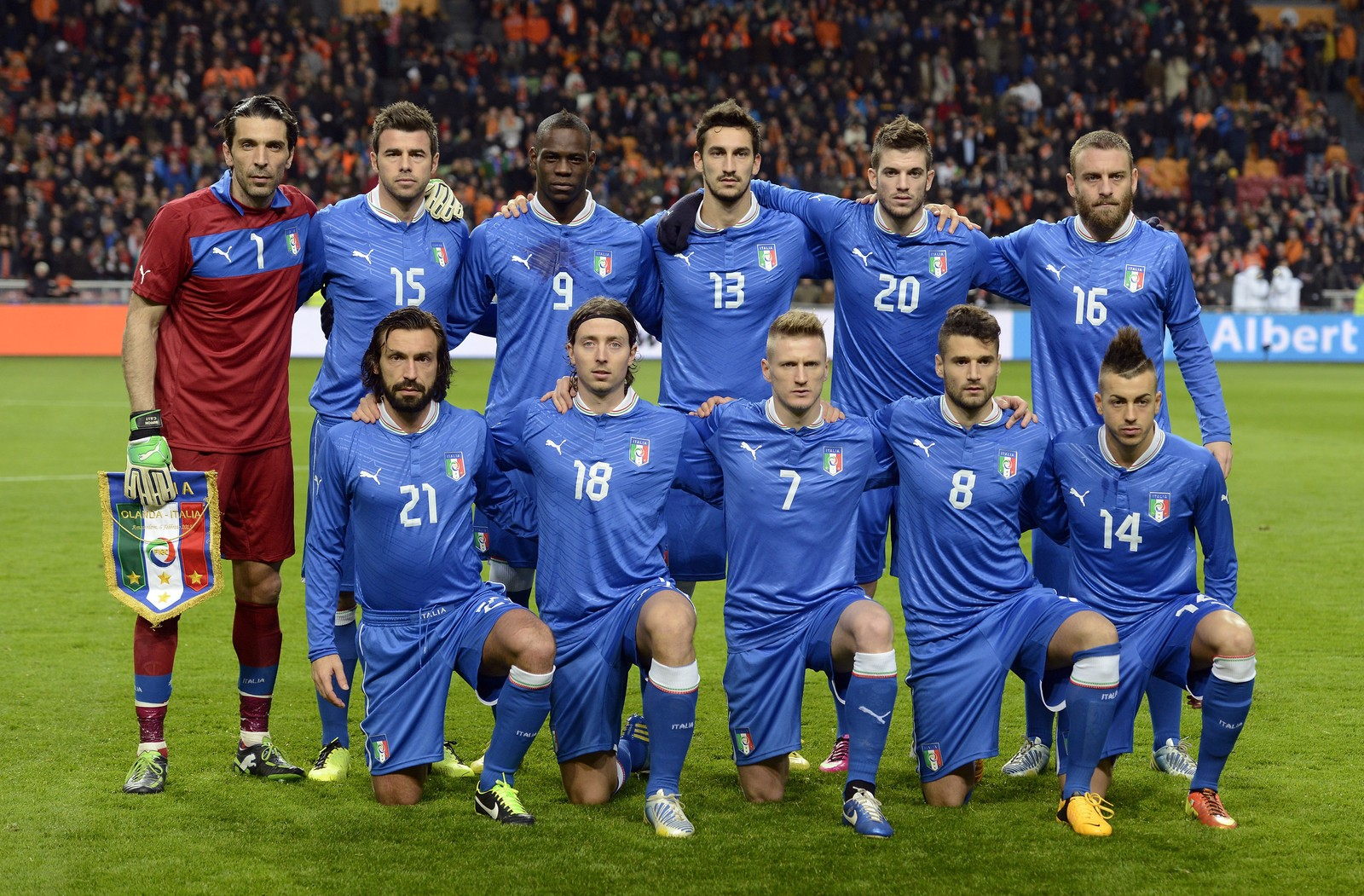 PES 2014: la Squadra Azzurra (Buffon, Balotelli, Pirlo…) en images!