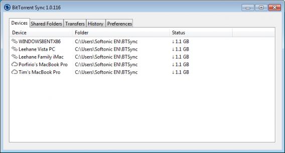 BitTorrent Sync pour partager des fichiers et des dossiers