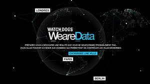 Découvrez la ville de Paris façon WatchDogs avec WeAreData.