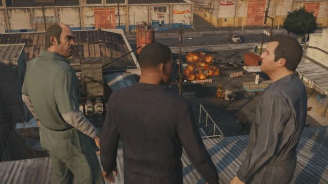 GTA V : analyse de la vidéo de gameplay