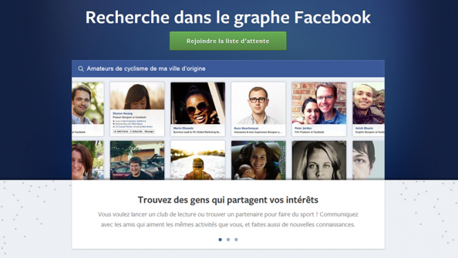 Facebook Graph Search en France: 25 recherches à essayer absolument!