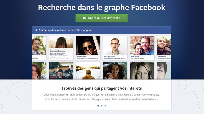 Facebook Graph Search en France: 25 recherches à essayer absolument!