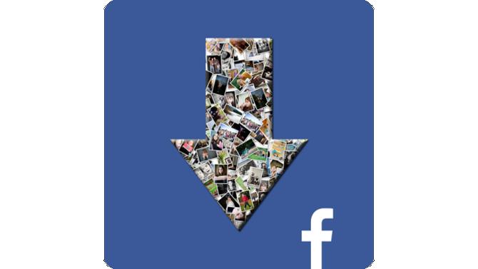 Facebook: une application Android pour télécharger toutes les photos
