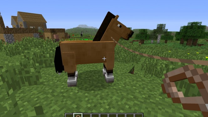 Guide Minecraft 1.6 : Comment se servir du cheval?