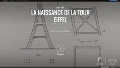 Google expose la tour Eiffel en ligne