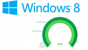 Test de vitesse internet: Microsoft lance une appli pour Windows 8