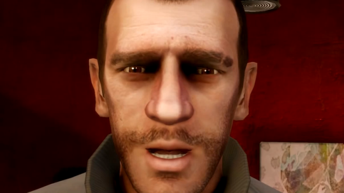 La réaction de Niko Bellic devant la vidéo gameplay de GTA 5