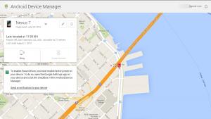 Android Device Manager disponible dès maintenant pour localiser votre mobile perdu