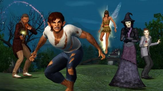 Les Sims Créatures surnaturelles