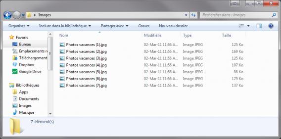 Renommer plusieurs fichiers