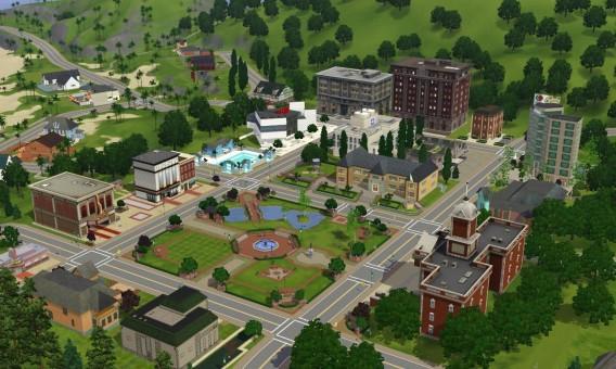Les Sims: la vie de quartier