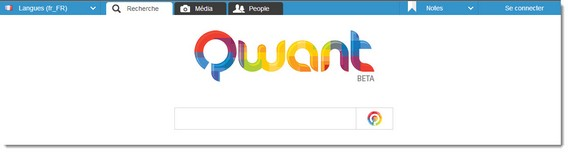 Qwant - page accueil