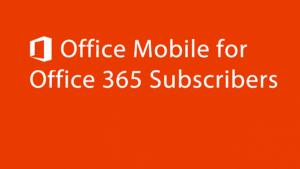Microsoft Office Mobile enfin disponible en France sur Android