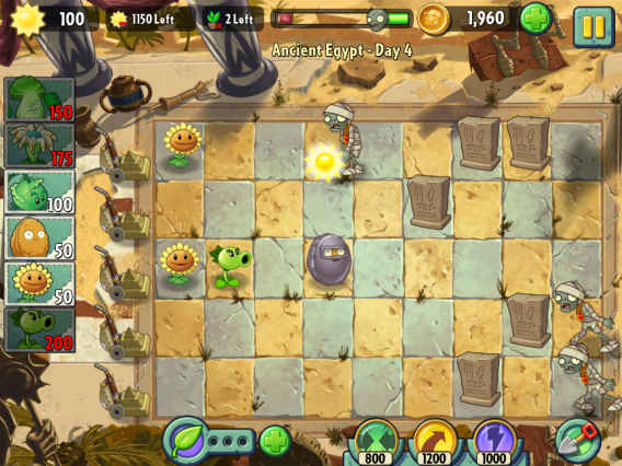 Plants vs Zombies 2 Noix