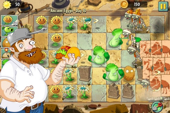 Plants vs Zombies 2 Tape Choi