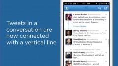 Twitter sur iOS et Android: un nouveau look pour les conversations