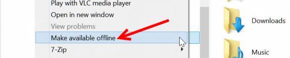 Comment accéder aux fichiers SkyDrive sans être connecté à Internet