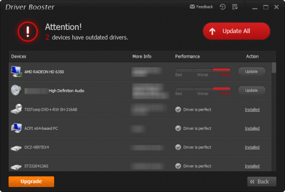 IOBit Driver Booster 2 Updates