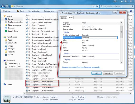 WTO 6 - Comment afficher plus d'options dans l'Explorateur de Windows modifier meta-tags