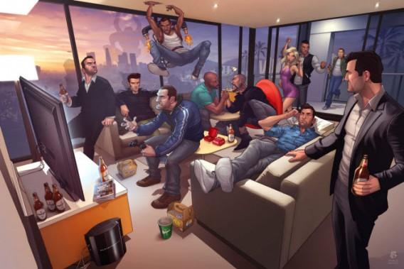 GTA 5 sur PC: les rumeurs sur son éventuelle sortie continuent