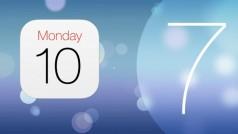 iOS 7 en long et en large : le nouveau Calendrier