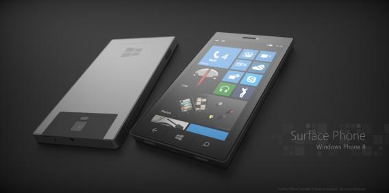 Surface Phone concept by Jonas Daehnert