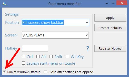 Start Menu Modifier 03