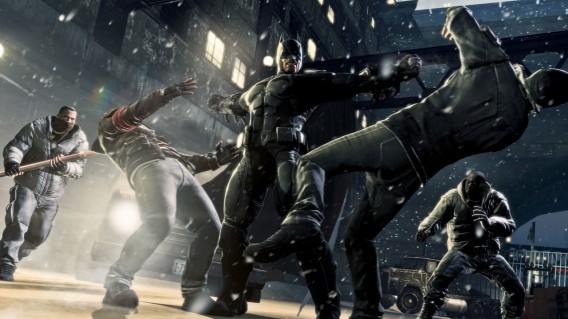 Os combates em Batman são um show à parte