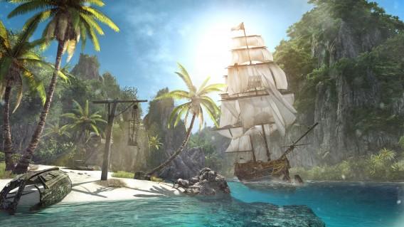 As ilhas de Assassin's Creed são dignas de cartão postal