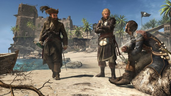 Assassin's Creed 4 impressiona graficamente!