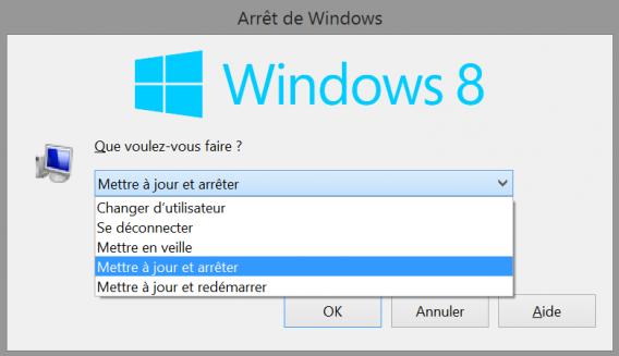 Arrêt de Windows
