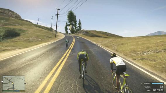 GTA 5 quels mini-jeux et activités disponibles? Cyclisme
