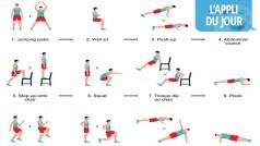 L'appli du jour: Seven, 7 minutes d'exercices pour être en forme (iOS)