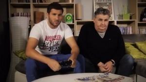 FIFA 14 UT: Gignac (OM) et Pierre Ménès jouent en double en ligne