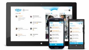 Skype pour iPhone s'adapte à iOS 7 et se met à jour sur Android