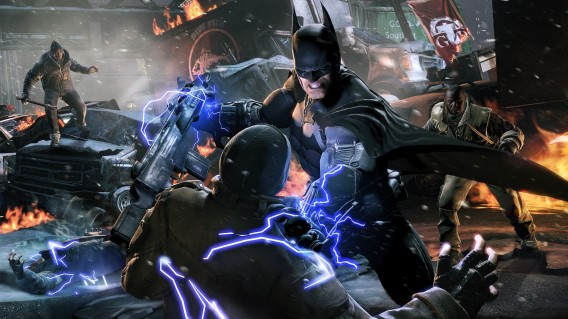 Equipamento do Batman é uma das forças de combate