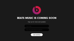 Beats Music: un nouveau concurrent pour Spotify et Deezer bientôt lancé aux USA