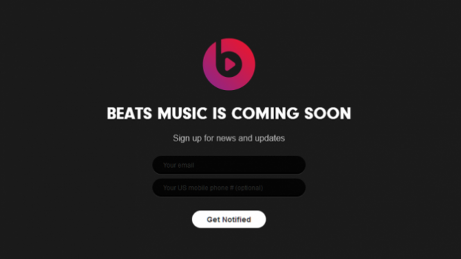 Beats Music, l'alternative à Spotify, arrivera en janvier 2014