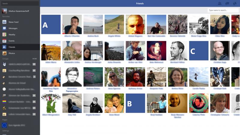 Facebook lance son application pour Windows 8.1