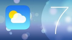 iOS 7 en long et en large : la nouvelle application Météo