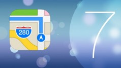 iOS 7 en long et en large: les nouveautés de l'application Plans