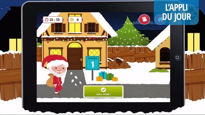 Appli du jour: Pili Pop Christmas, apprendre l'anglais avec le Père Noël (jeu gratuit) [iPhone, iPad]