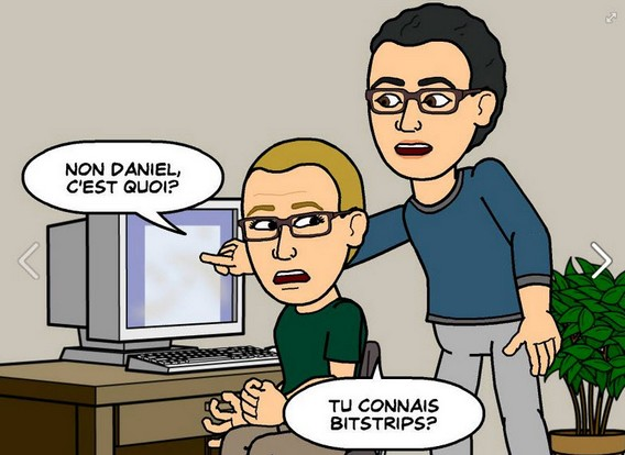 BitStrip l'application à la mode sur Android iPhone et Facebook