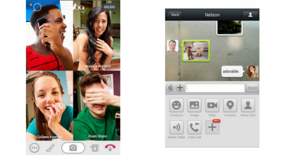 Comparatif des fonctionnalités ooVoo et WeChat