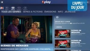 Appli du jour : 6play offre le direct et le replay des chaînes M6, W9 et 6ter