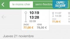 Appli du jour : Capitaine Train pour acheter ses billets de train en 1 minute [IPhone, Web]