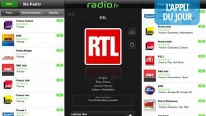 Appli du jour : radio.fr, la meilleure app pour écouter la radio ! [iPhone, iPad, Android, BlackBerry, Windows Phone]