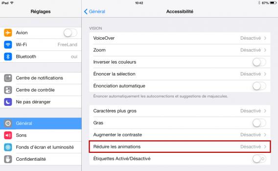 Ouvrir les applications plus rapidement avec iOS 7