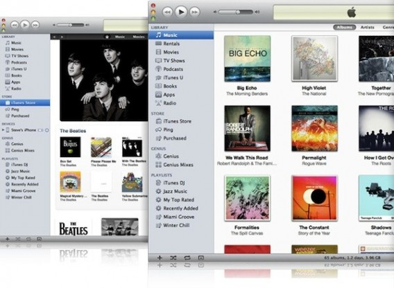 iTunes for Mac 2011
