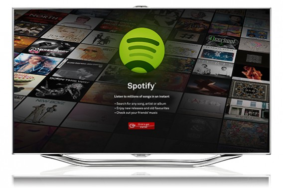Spotify Samsung TV App